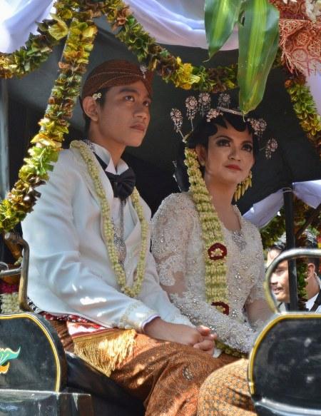 Pernikahan Gibran - Selvi