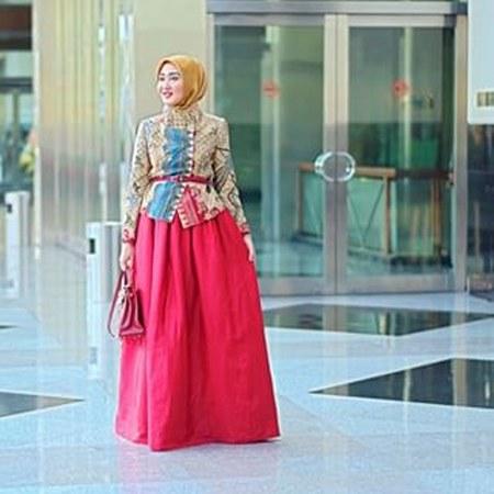 ... baju muslim Dian Pelangi ini sangat menarik untuk diikuti oleh fashion