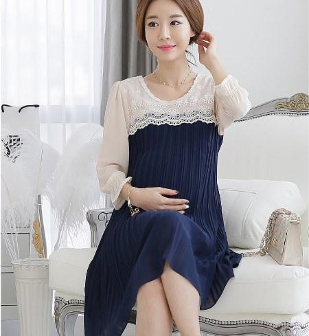 baju hamil model korea