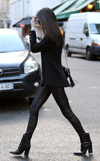 Kendall Jenner's Boots