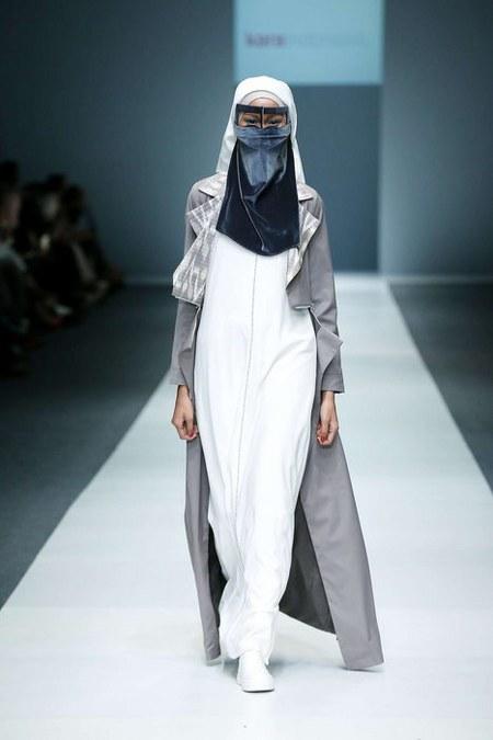 gaya hijab bercadar diana nurliana