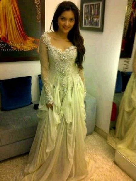 Gaun pengantin Ashanty
