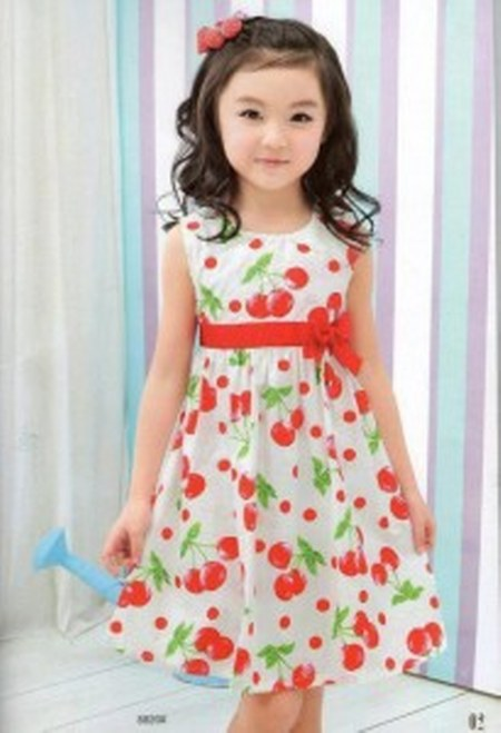 Baju-Anak-Girls-Dress-Cherry