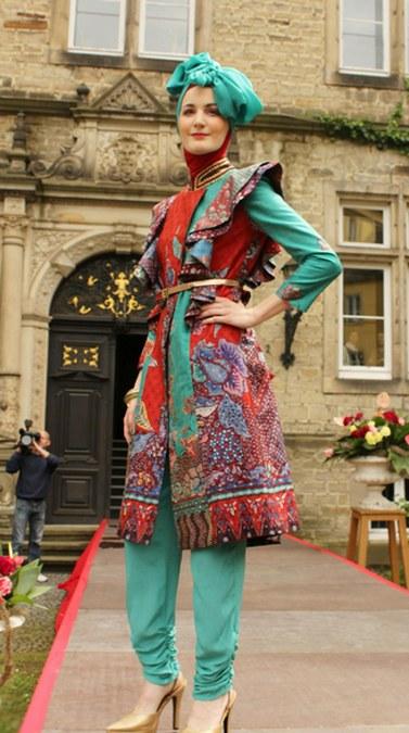 20 Desain Baju Muslim Terbaru Dian Pelangi 2016