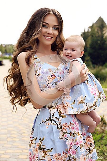 Baju Kembar Ibu dan Anak