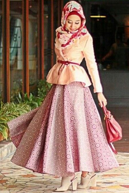 Busana-Muslim-Batik-Pesta-Modern