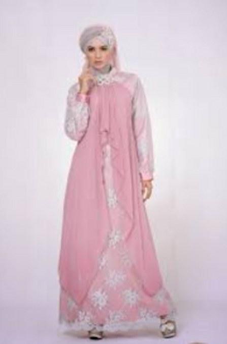 Desain Baju Muslim Kebaya Modern untuk Ibu Hamil