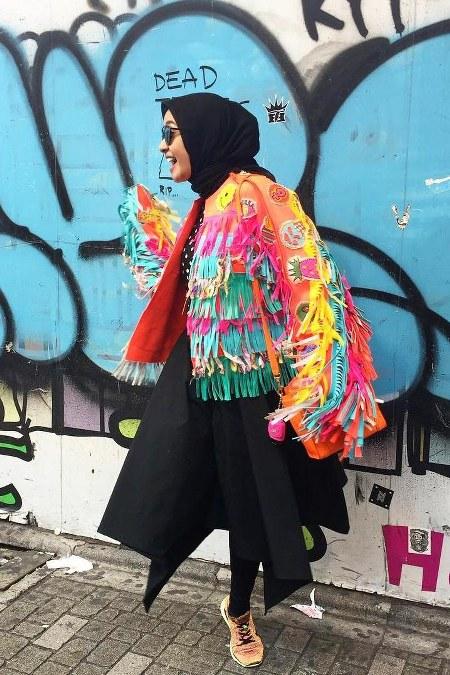Hijab Santai ala Laudya Cynthia Bella (10)