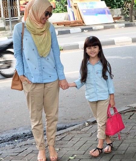 Hijab Santai ala Laudya Cynthia Bella (6)