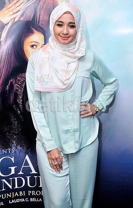 Inspirasi dari Busana Hijab Laudya Cynthia Bella (20)