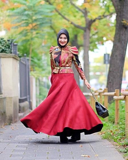 20 Desain Baju Muslim Terbaru Dian Pelangi 2016 - IdeModelBusana.com