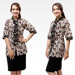 Model-Baju-Batik-Kantor