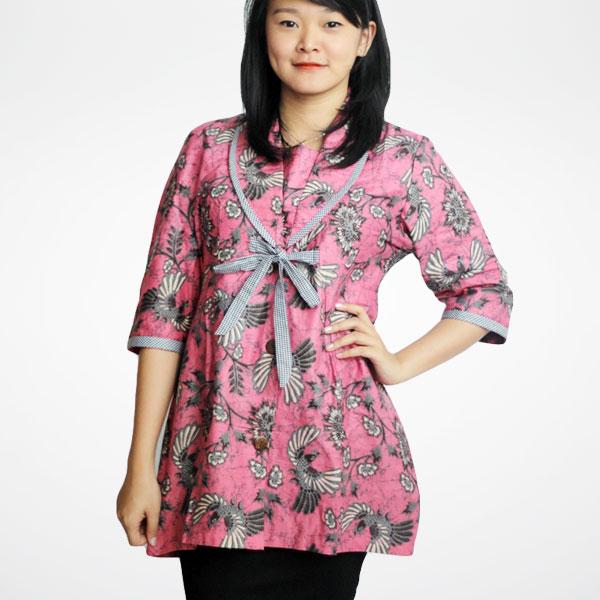 Model Baju Batik Modern Untuk Kerja Wanita: Model Baju Batik Wanita Untuk Kerja