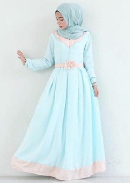 25 Koleksi Gaun Pesta Muslim Modern Dan Elegan Ide Model Busana