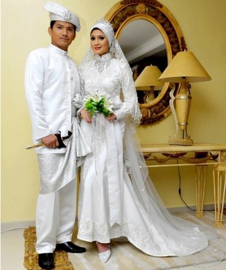 Model-Baju-Pengantin-Muslim-Modern-Modis