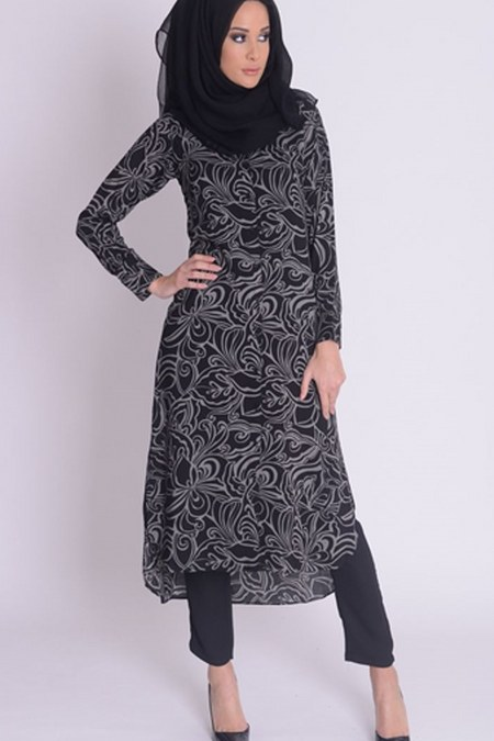 Model-Baju-Tunik-Muslim-untuk-lebaran