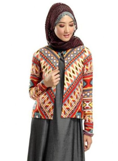 Model-Cardigan-Batik