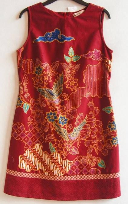 Pekalongan Semi-Sabrina Dress