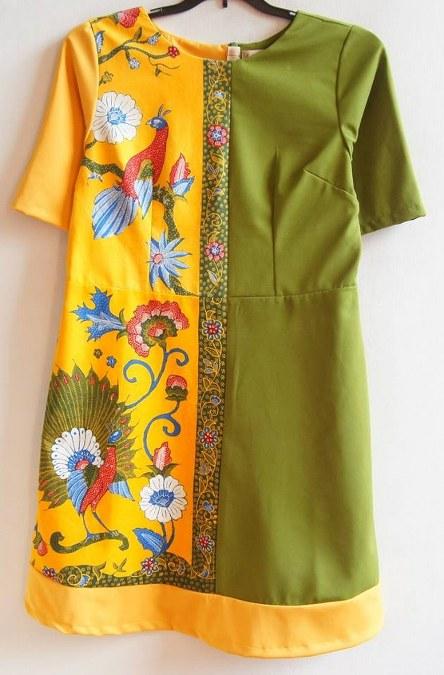 Shift Paneled Dress