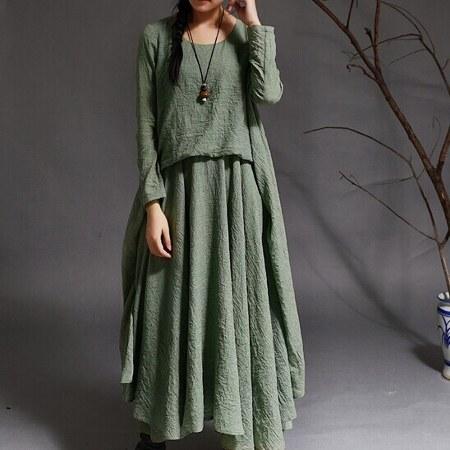 Women-linen-dress