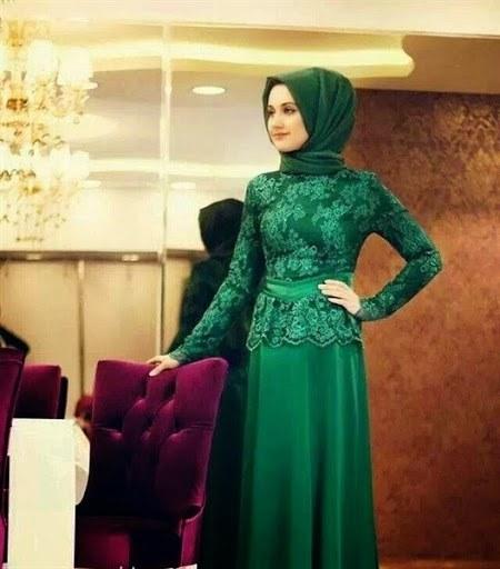baju kebaya muslim simple elegan terbaru