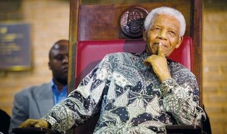 Nelson Mandela, penggemar berat batik