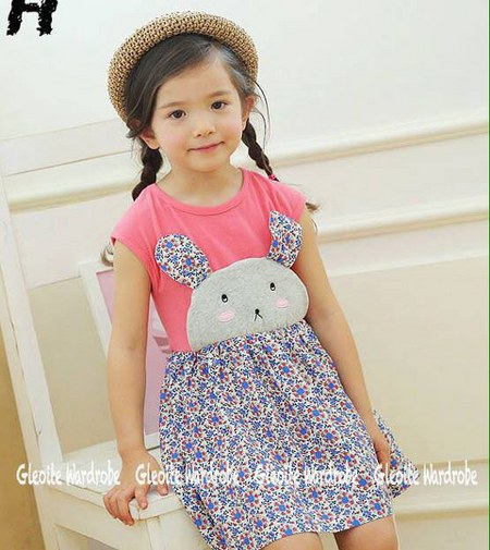 Foto Baju Anak Model Princess Bahan Brukat January 2017