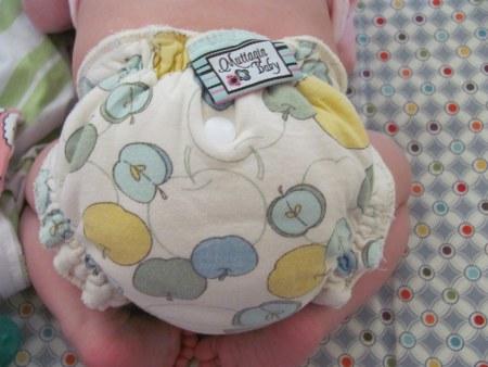 Newborn baby clodi