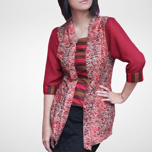 model-baju-batik-kerja-untuk-wanita