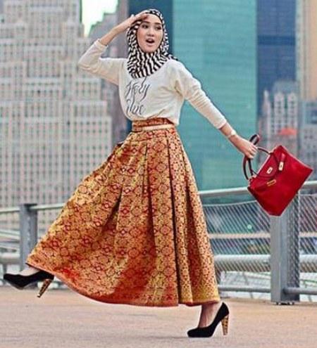 20 Desain Baju Muslim Terbaru Dian Pelangi 2016 Idemodelbusana Com