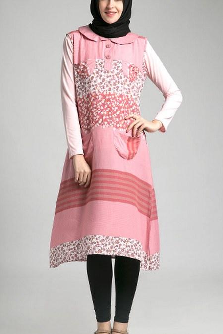 model-baju-lebaran-wanita-terbaru-tunik-etnik