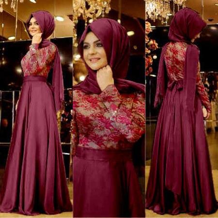 model-baju-muslim-pesta-terbaru