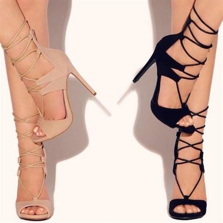 model sepatu dan sandal heels tali wanita terbaru 2016-2017
