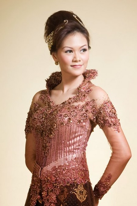 wedding dress Kebaya Brown3_450x675