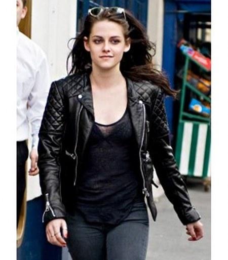 Model Jaket Kulit Kristen Stewart