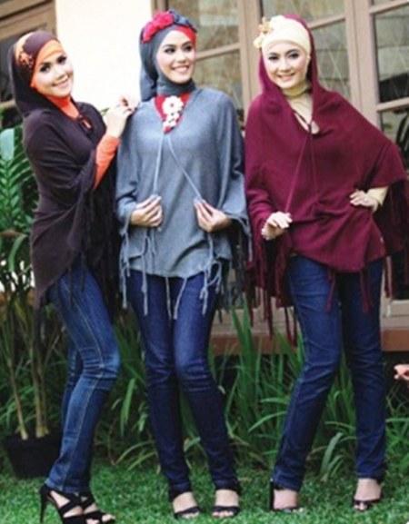 Baju-Atasan-Muslim-Bahan-Rajut