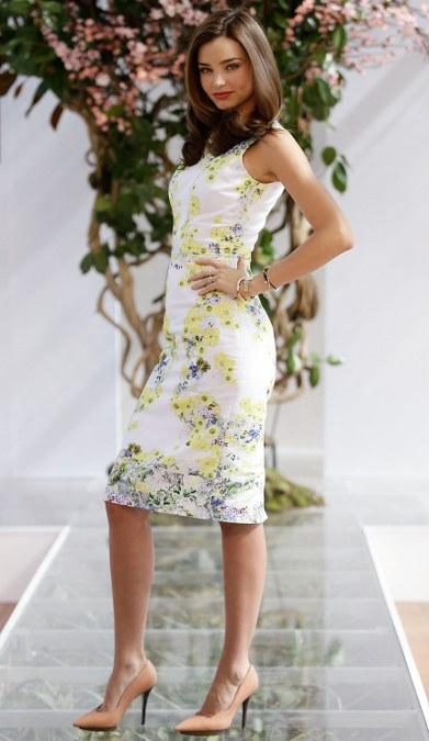 Baju Floral Miranda Kerr (6)