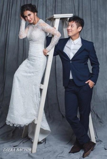 Foto Pernikahan Putri Titian dan Junior Liem (4)