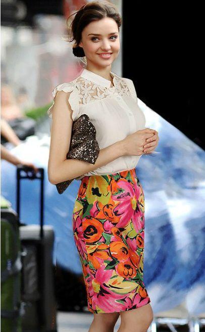 Miranda Kerr Floral Dress