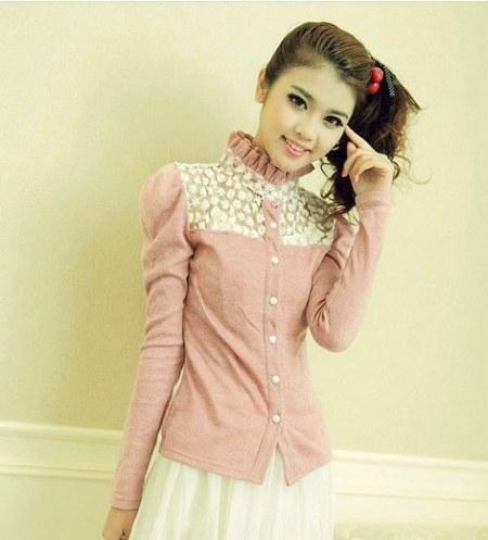 Model-Baju-Kemeja-Korea