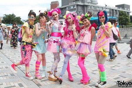 street fashion jepang decora style