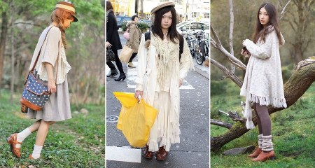 street fashion jepang mori girl style