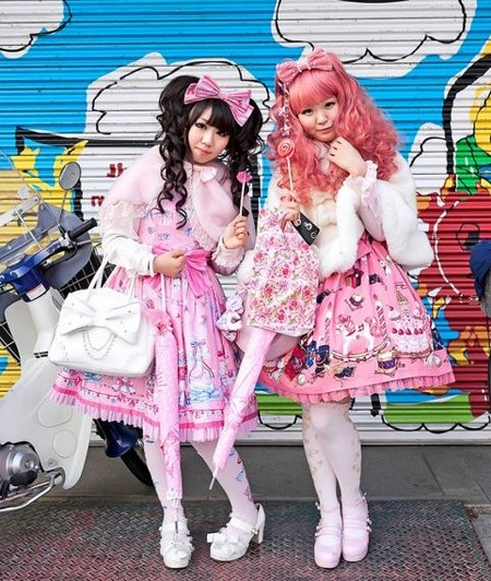 street fashion jepang lolita