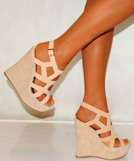 Wedges Summer Strappy Platforms High Heels