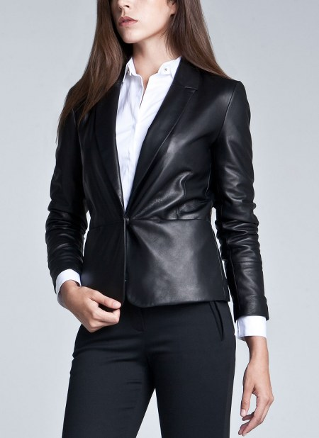 Womens-Leather-Blazer-Jackets-For-Fall-Winter