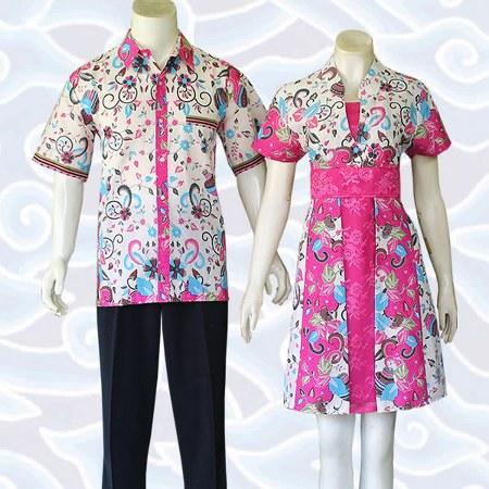 dress batik couple SB276