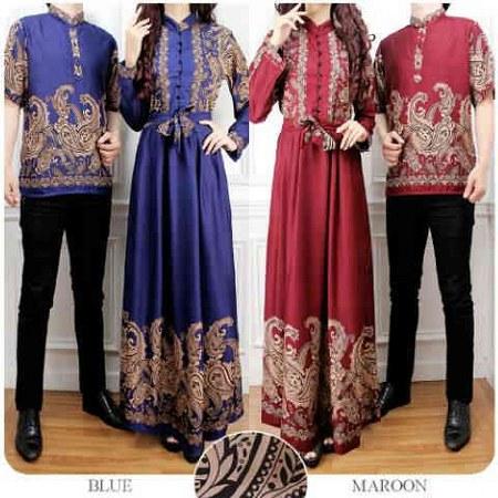 baju-muslim-sarimbit-batik