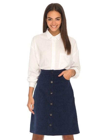kemeja dan a-line skirt