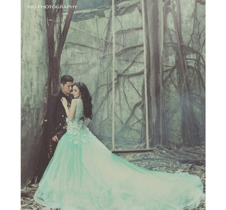 emma the silent princess wedding by Ivan Gunawan