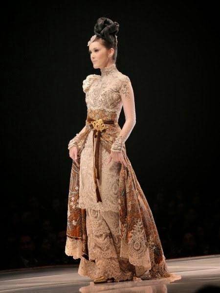gaun kebaya modern ivan gunawan